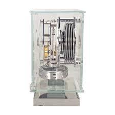 jaeger lecoultre atmos glass crystal clock q5135201 atmos clocks