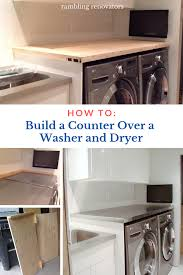 how to install base cabinets in laundry room how to support a laundry room countertop a washer and