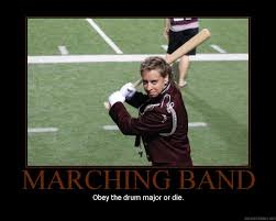 Drum Major Meme - marching band drum majors by featherbrained flute on deviantart