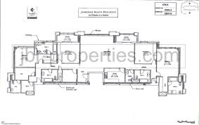 3 floor plan jbr floor plans jumeirah beach residence