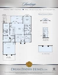 Eagle Homes Floor Plans by Santiago Dream Finders Homes