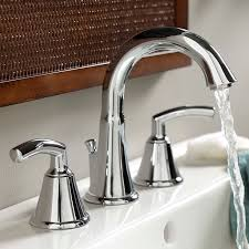 Bathroom Faucets Pictures Tropic 2 Handle 8 Inch Widespread High Arc Bathroom Faucet