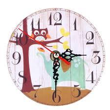 vintage wooden wall clock lazada malaysia