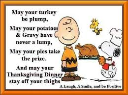 thanksgiving sayings brown snoopy fall and
