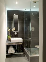 small condo bathroom ideas dramatic tile sinks modern and