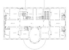 Floor Plan Of Home by Second Floor White House Museum