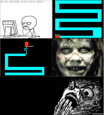 Meme Scary Face - scary maze face images
