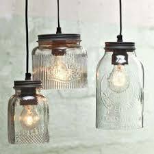 Pottery Barn Mason Jar Chandelier Mason Jar Pendant Lights Lighting Pinterest Pendant Lighting