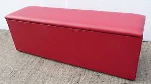 ottoman storage extra large extra large red faux leather ottoman storage blanket box toy trunk