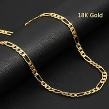 luxury bracelet gold chains images 46 71cm european fashion luxury men women fashion solid 18k gold jpg