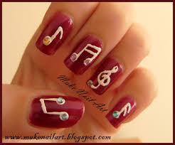 nails art music