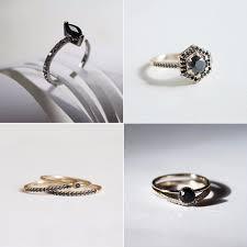 Wedding Engagement Rings by Black Stone Engagement Rings Popsugar Love U0026