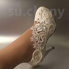 wedding shoes ivory ivory bridal shoes ebay