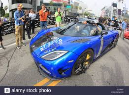 koenigsegg agera s blue lewis hamilton joins the gumball 3000 rally on route to death