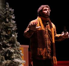 stage and cinema theater review it u0027s a wonderful santaland