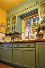 yellow and green kitchen ideas low cost cabinet makeover ideas you to see to believe