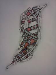biomechanical side tattoo by sitting in silence on deviantart