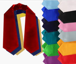 custom graduation sashes graduation stoles sashes custom graduation stoles