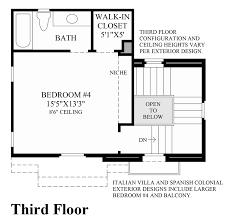 Italian Floor Plans Cordova At Gale Ranch The Rosata Home Design