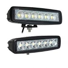 led security light bar 18 watt mini 6 led light bar spot beam pro light usa