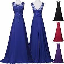 royal blue bridesmaid dress 2016 grace karin 6 colors sequined