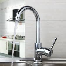 online get cheap kitchen sinks taps aliexpress com alibaba group luxury 360 swivel hot cold water mixer deck mounted faucet chrome brass tap bathroom basin sink faucet kitchen sink taps