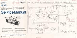 philips b3f80a radio 1958 sm service manual download schematics