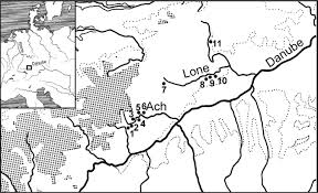 Ulm Germany Map by Lonetal Sites Including Neanderthal And Middle Paleolithic Sites