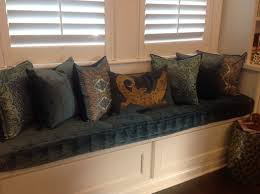 hand crafted custom hand tufted mattress cushion window seat