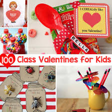 100 class valentines that kids can make give for kids kid