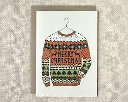 sweater card lights decoration