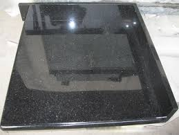 black granite table top black galaxy granite kitchen countertop bathroom vanity top worktop