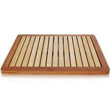Bamboo Bathroom Rug Bamboo Bath Mats Ebay