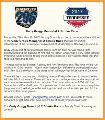 pro am motocross muddy creek 2 stroke memorial race for cody gragg moto related