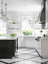 black and white tile kitchen ideas country kitchen ideas with corner styled cabinet and best