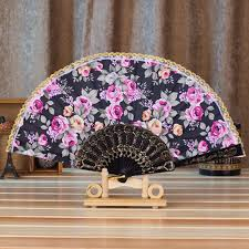 held fan aimecor pattern folding held fan ancient china style