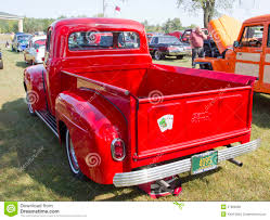 Old Ford Truck Vector - 1952 ford pickup rear view editorial image image 27669380