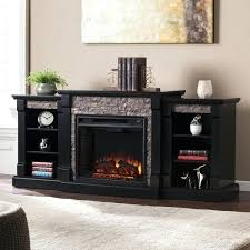 White Electric Fireplace With Bookcase Electric Fireplace Bookcases With Shelves White Blvd Black Faux