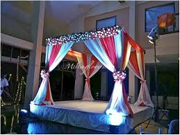 indian themed wedding wedding photo venue reception decor ideas