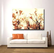 wall ideas fall wall art large waterfall wall art autumn trees