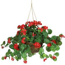 silk plants geranium hanging basket silk plant silk flowers stained glass