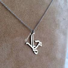 arabic nameplate necklace 30 best writting jewellery images on arabic