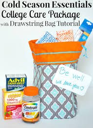 halloween care packages for college students cold season essentials college care package with drawstring bag