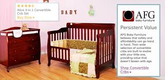 Baby Furniture Convertible Crib Sets Afg Furniture Wayfair