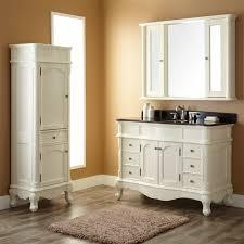 White Vanities Bathroom Bathroom Vanity And Linen Cabinet Sets U2022 Bathroom Vanity