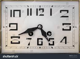 art deco design clock face early stock photo 133261961 shutterstock