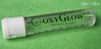 Serum Oxy product review oxyglow papaya kit paperblog