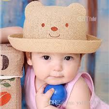 Baby Boy Photo Props Online Cheap Cute Baby Boys Girls Little Bear Cap Children Summer