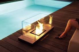 portable fireplace new trend portable fireplaces freshome com