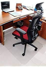 amazon com azadx office home desk chair mat pvc dull polish
